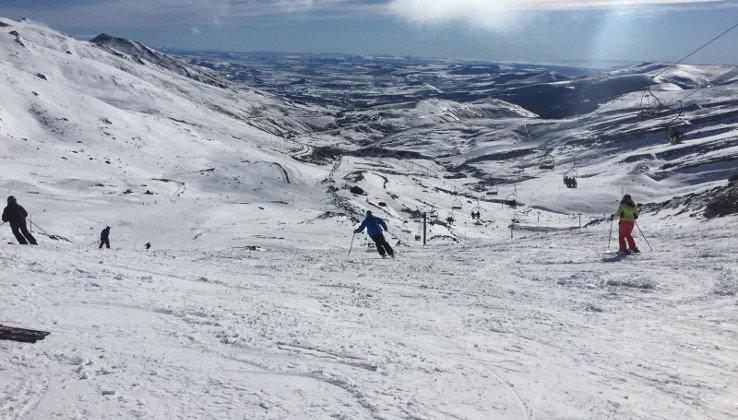 El viento supera los 120 kilómetros por hora en Alto Campoo y causa 9 incidencias en Cantabria