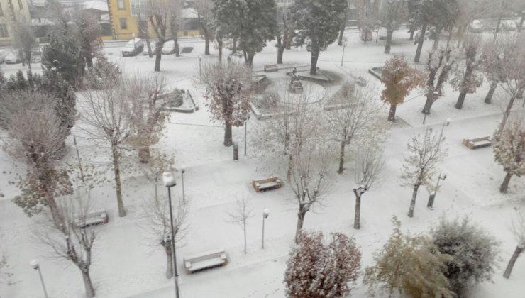 Reinosa alcanza los 9,5 grados bajo cero en la medianoche