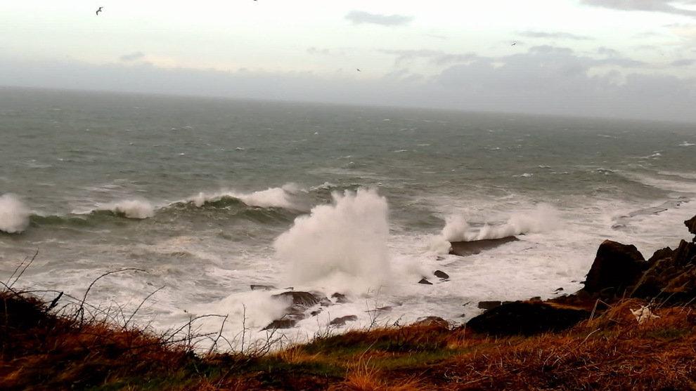 Cantabria estará en aviso naranja por fenómenos costeros entre las 20:00 horas y el final del día