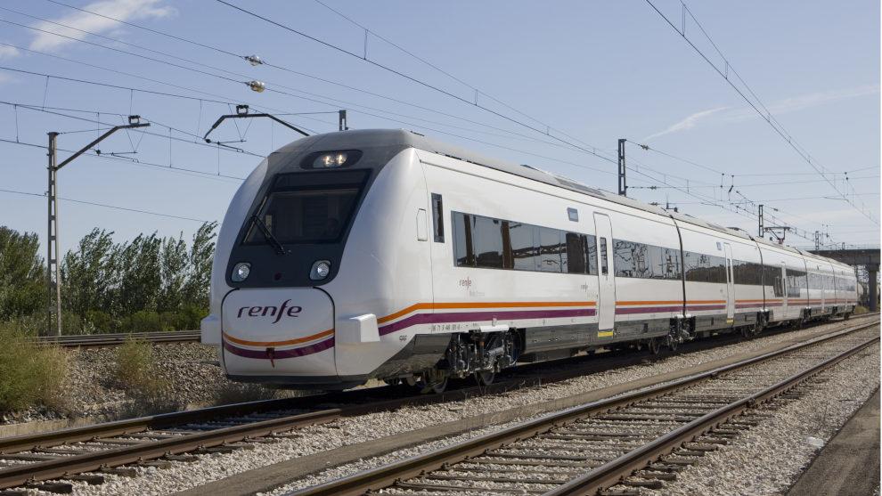 Muere un hombre invidente al ser arrollado por un tren en Reinosa