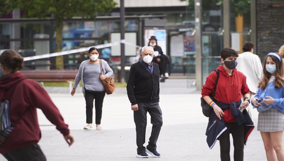 7 denuncias por incumplir el confinamiento municipal, 51 por el toque de queda y 84 por no usar mascarilla en Santander