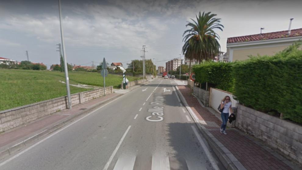 Un herido por atropello y otros dos en una colisión en Santander