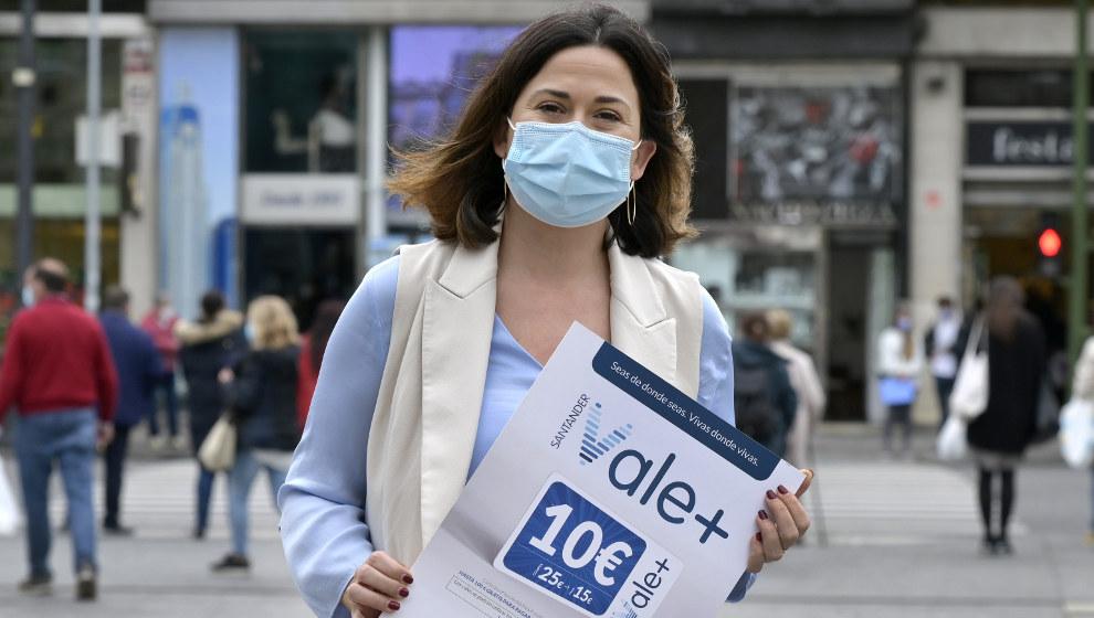 'Santander vale+' ha generado ventas por 1,2 millones de euros en los primeros 15 días de campaña
