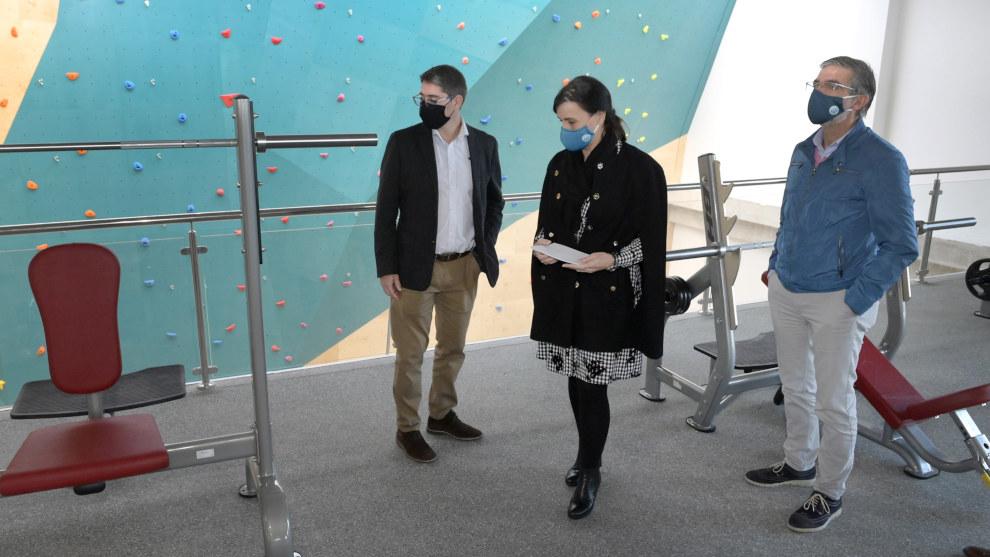 Concluye la ampliación del edificio de la piscina del complejo Ruth Beitia
