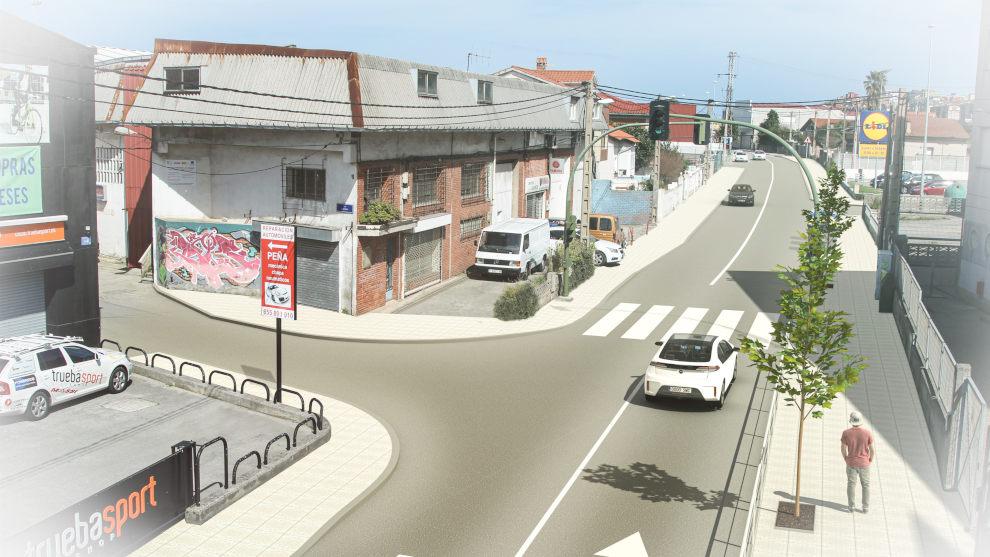 El Ayuntamiento destinará un millón de euros a reordenar y pavimentar la calle Repuente y señalizar el polígono de La Tejera