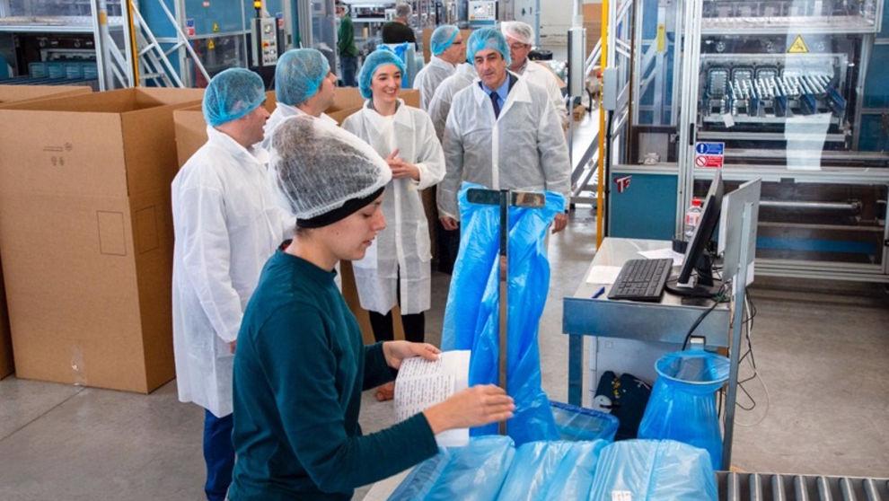 Industria impulsa con 71.000 euros la ampliación de Formaspack, que creará diez empleos
