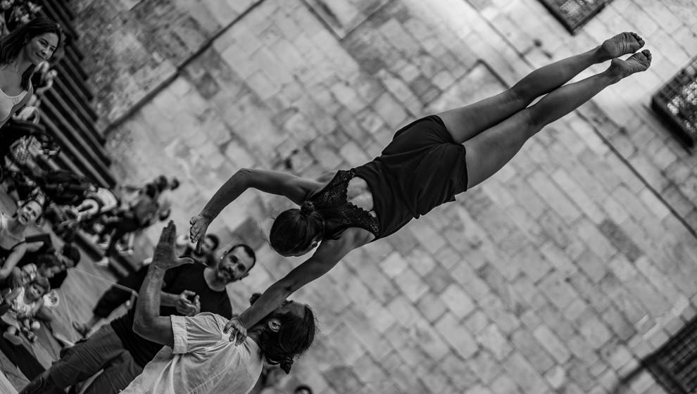 El festival 'En la cuerda floja' afronta su recta final con cinco espectáculos