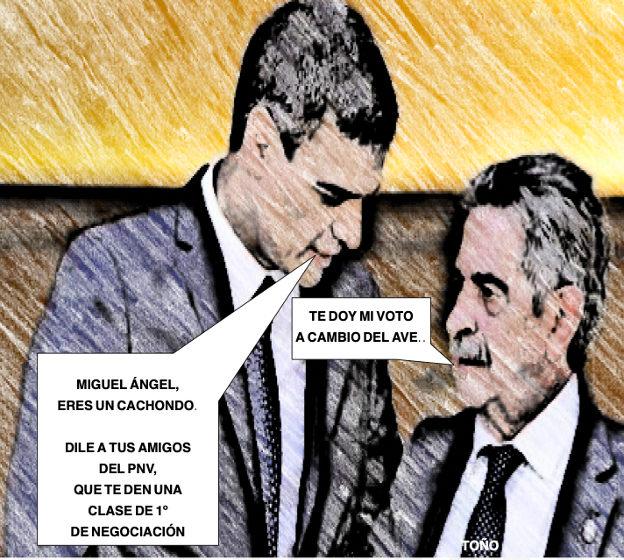 1º de negociación para Revilla en el País Vasco