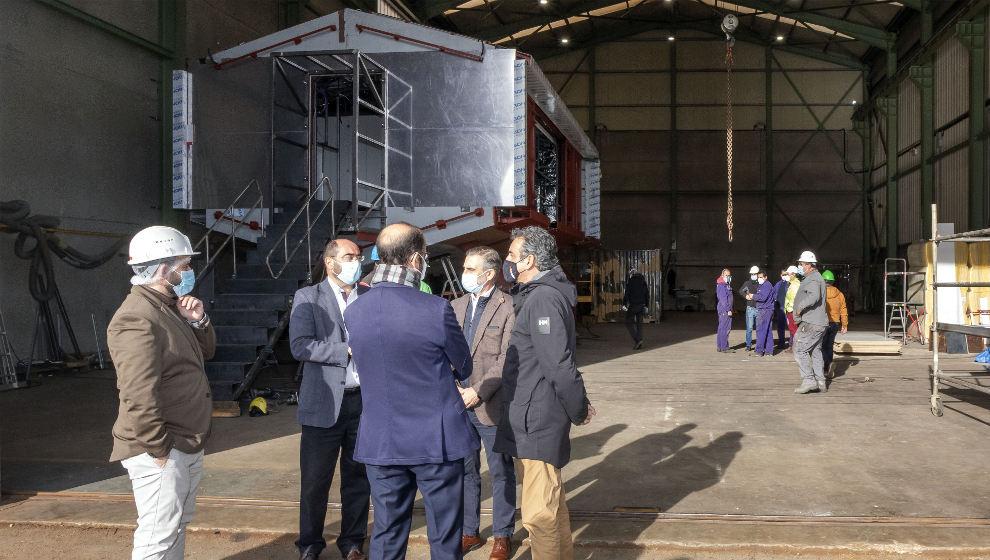 """Astroland construye un prototipo de la """"vivienda del futuro"""" en Camargo"""