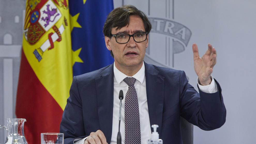 Unidas Podemos, socio de gobierno de Sánchez, se une a PP, Vox y Cs para pedir que Illa deje Sanidad tras ser designado candidato del PSC