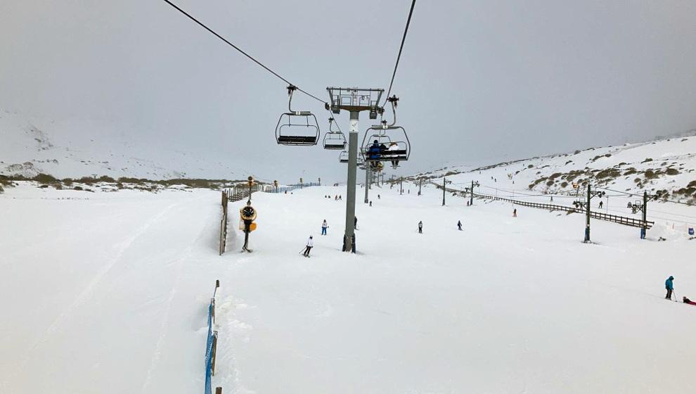 La estación de esquí de Alto Campoo abre 21 de sus 23 pistas