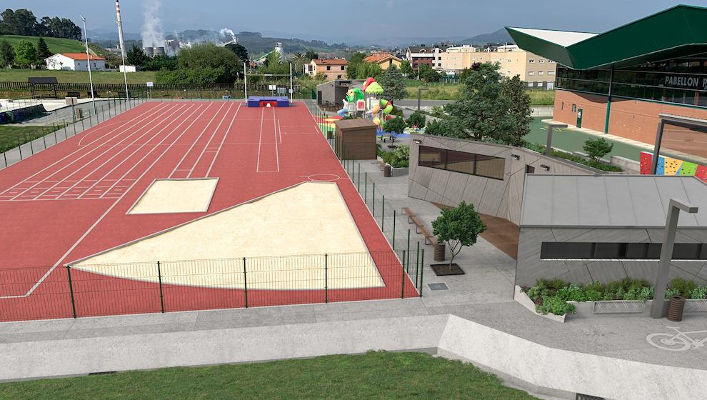 El Ayuntamiento adjudica en 638.000 euros la ampliación de la zona de ocio de Requejada
