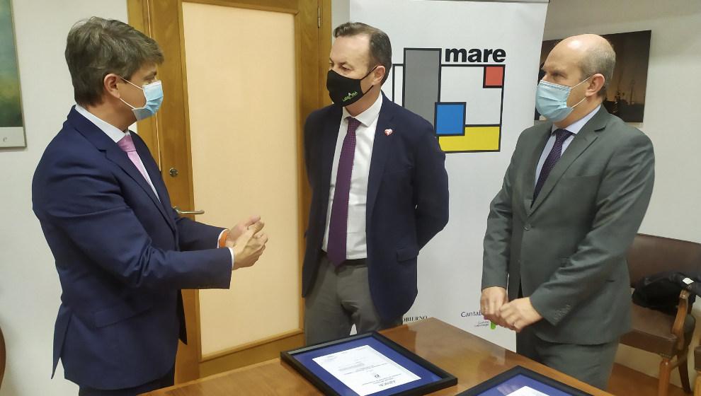 """MARE es la primera empresa pública de Cantabria con un sistema de seguridad de la información """"de máximo nivel"""""""