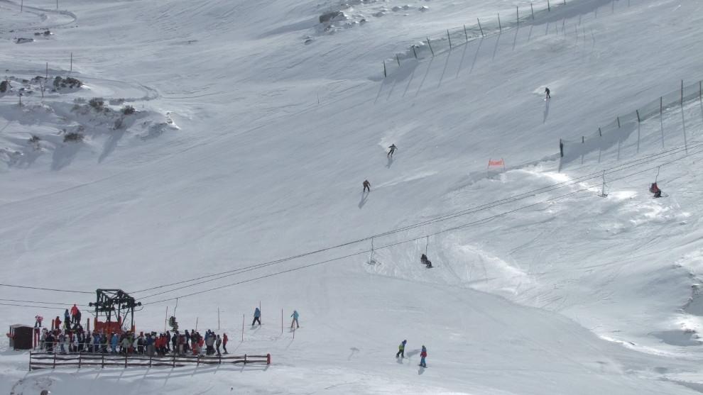 Picos de Europa y Alto Campoo, en riesgo limitado de aludes