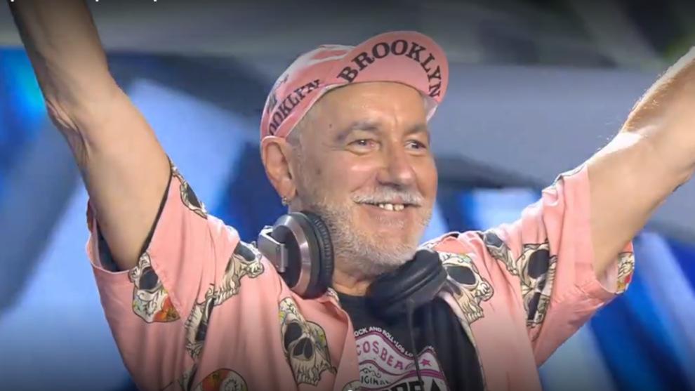 El santanderino DJ Poli pone al plató de 'Got Talent' en pie con su particular fiesta