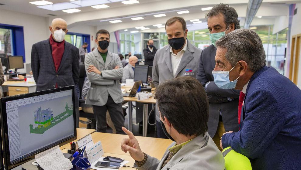 El Gobierno apoya la participación de Leading de San Felices de Buelna en el ITER destinando 3 millones de euros