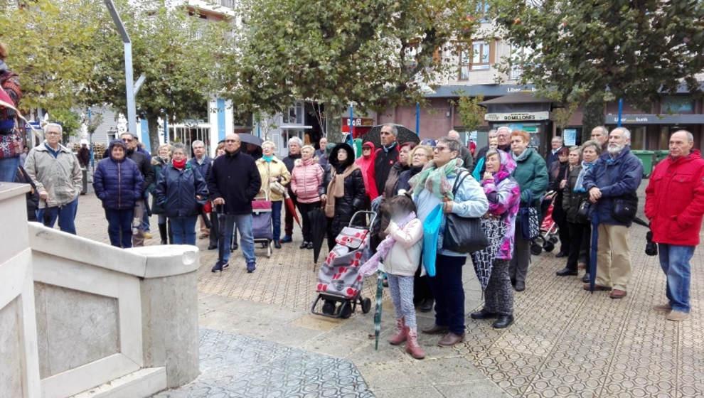 Los pensionistas se concentrarán en varios municipios de Cantabria el 25 de enero