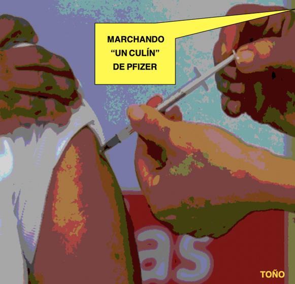 El 'culín' de la vacuna
