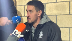 Aritz Solabarrieta en rueda de prensa | Foto: Real Racing Club