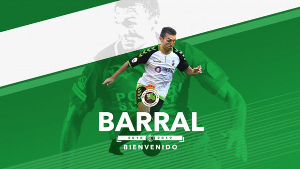 El Racing refuerza su delantera con David Barral