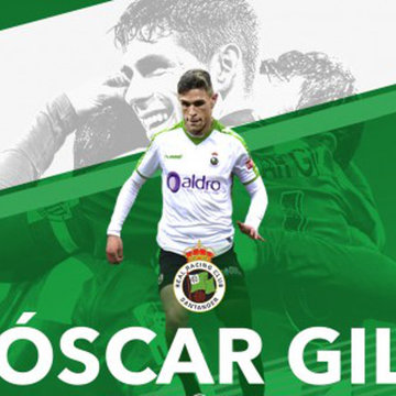 El Racing refuerza su defensa con Óscar Gil
