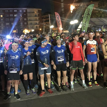 La Aldro Night City Trail bate récord de inscritos con unos 2.850 participantes