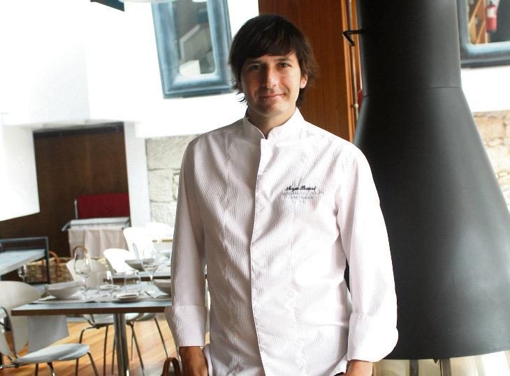 El cocinero cántabro Sergio Bastard