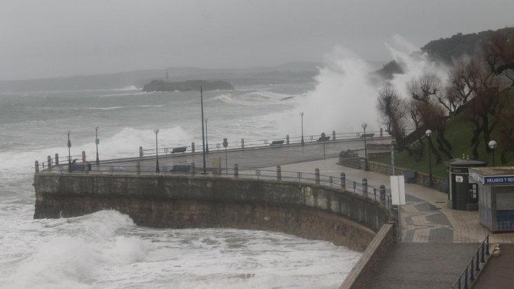 El Gobierno activa el nivel de preemergencia del Plan Territorial por el temporal marítimo