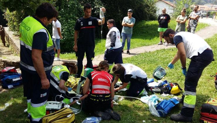 En estado muy grave una niña de 10 años que resbaló y cayó al río ...