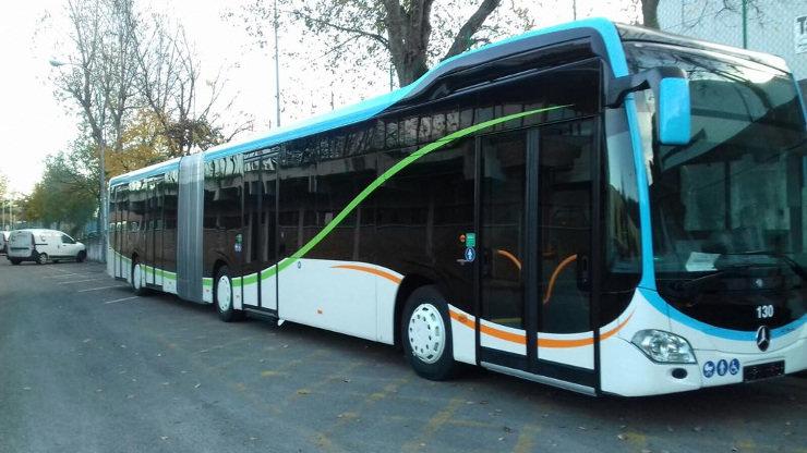 La línea 5C2 modificará su recorrido el sábado por obras en Marcelino Sanz de Sautuola