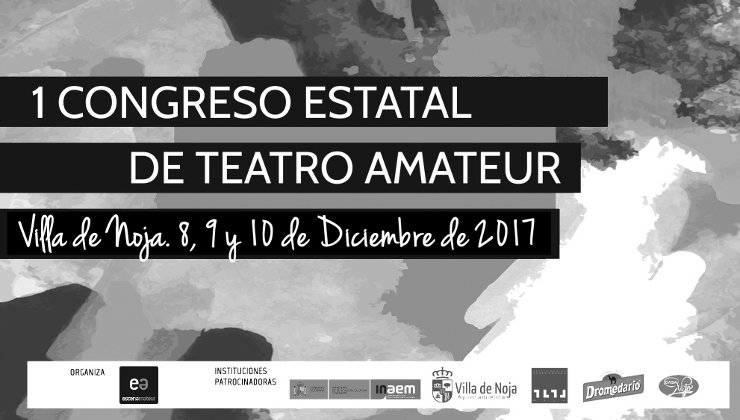 Cartel Congreso Estatal de Teatro Amateur