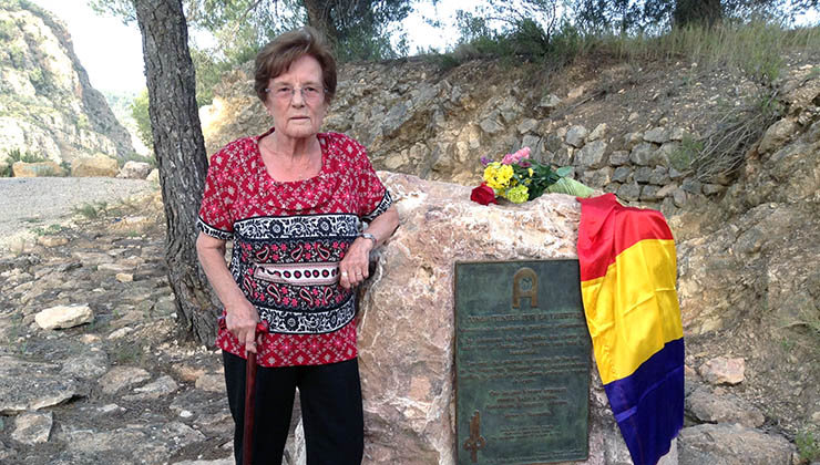 Esperanza Martínez 'Sole', guerrillera antifranquista de la AGLA   Fotos: AGE