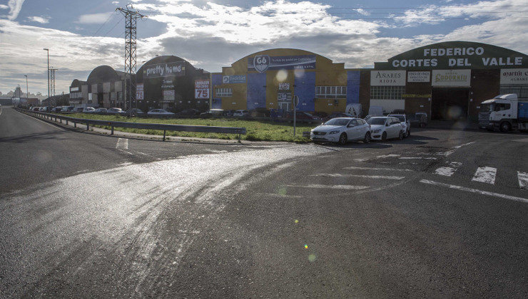 Una nueva glorieta en la carretera al aeropuerto mejorará el acceso ...
