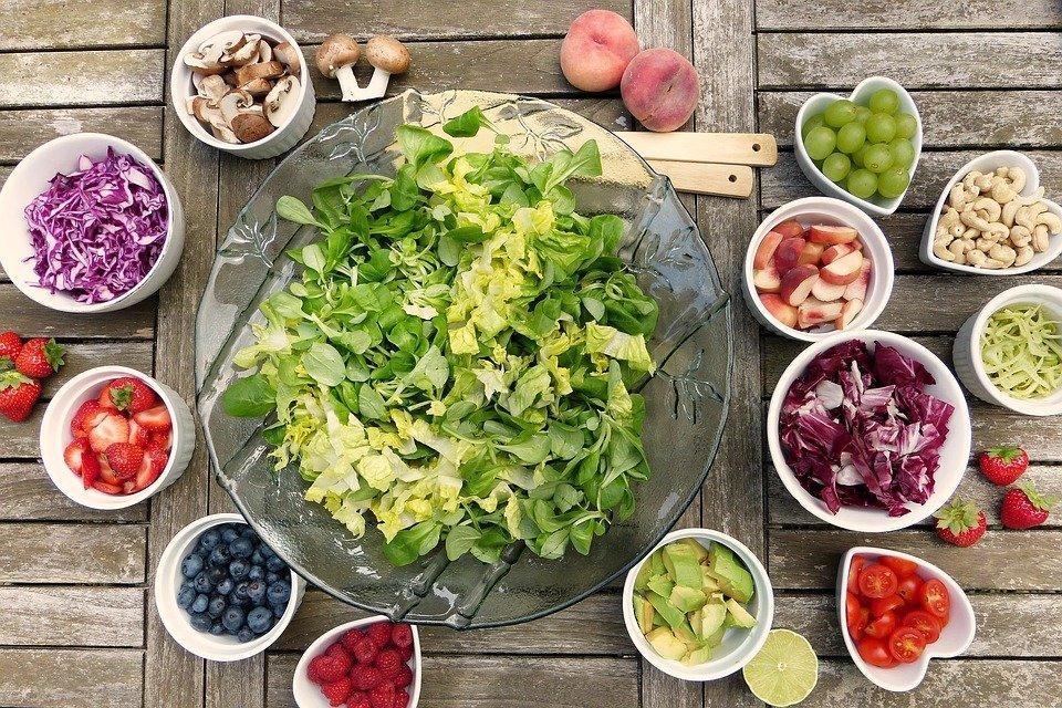 De faciles y comidas saludables verano