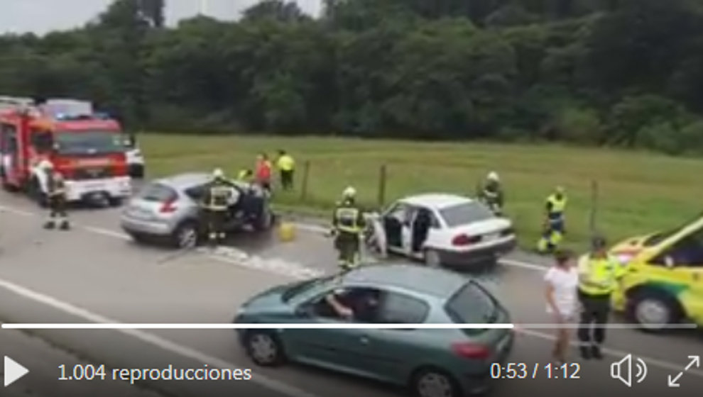 Accidente entre Beranga y Noja
