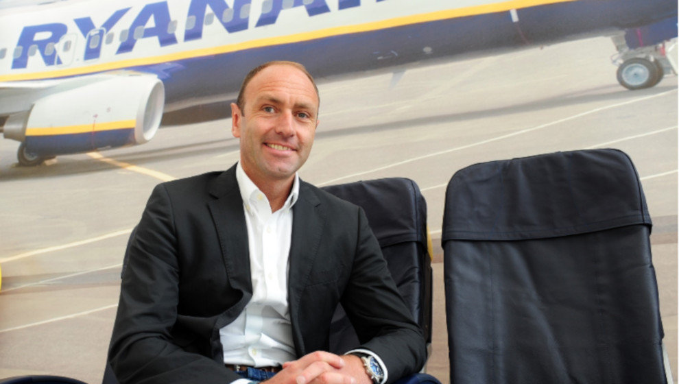 Responsable de Marketing de Ryanair, Kenny Jacobs