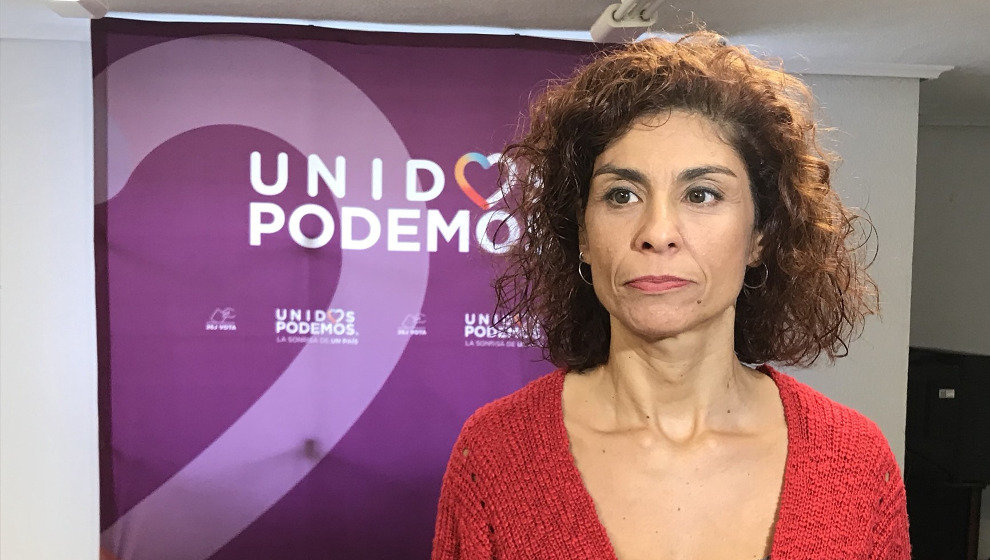 La secretaria general de Podemos, Rosana Alonso