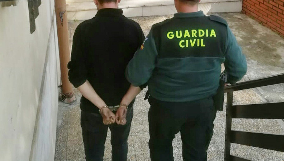 La Guardia Civil ha detenido al joven natural de Ucrania