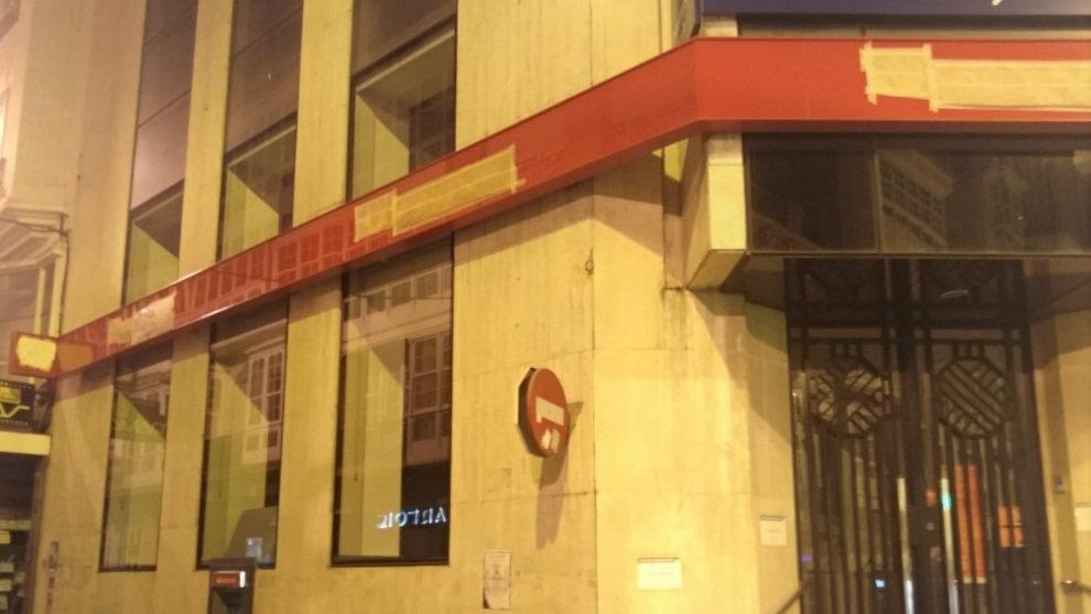 Oleada de despidos en el banco Santander, cierra mañana viernes 176 oficinas por el ERE y en octubre otras 500 oficinas