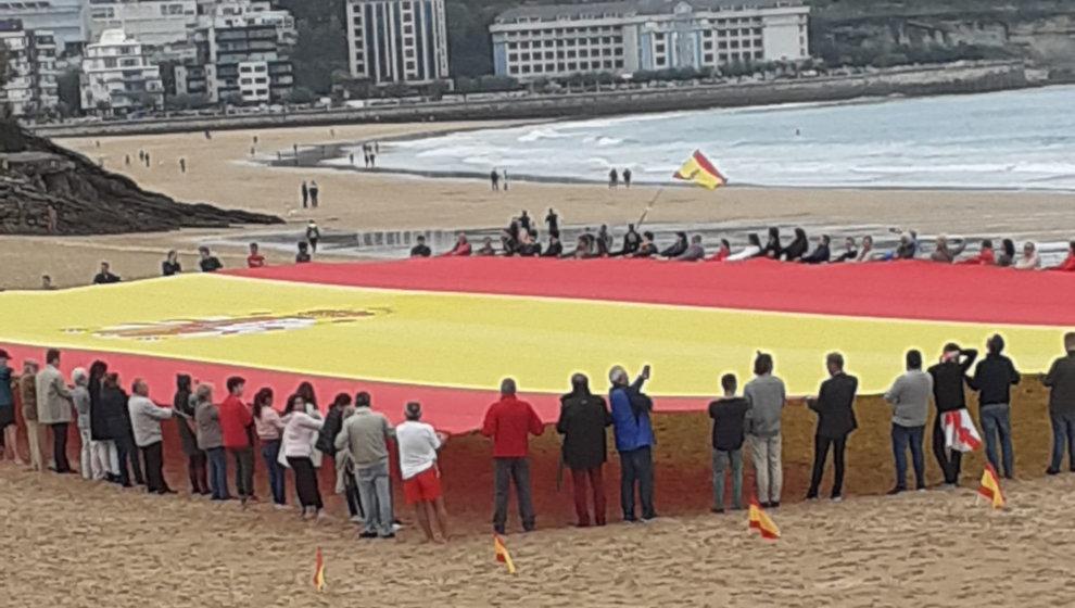 Acto de Vox celebrado el pasado sábado en Santander
