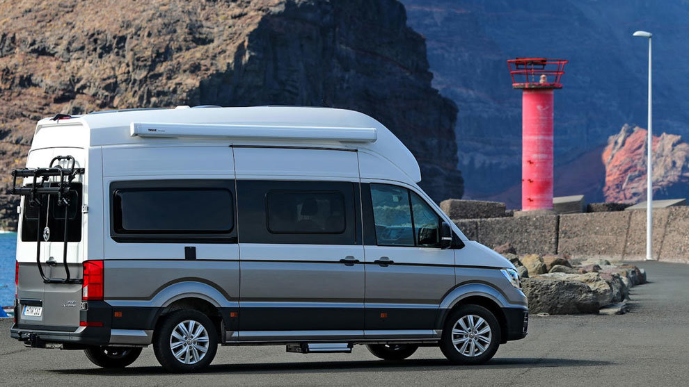 Volkswagen Crafter Grand California | Imagen: carmagazine.co.uk
