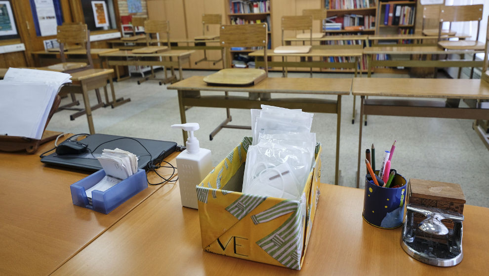 """Sánchez asegura que las clases se reanudarán en septiembre en """"un entorno seguro y saludable"""""""
