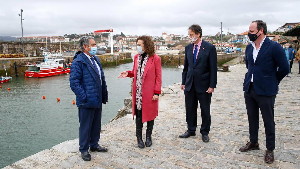 Inaugurada la ampliación del dragado del puerto, que duplica la profundidad de la dársena